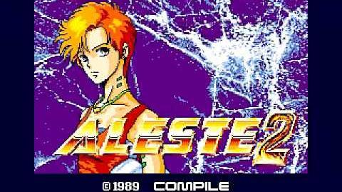 MSX - Aleste 2 (1989) - Intro-2