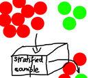 Stratified sample