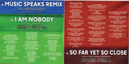Welcome to Your Show - 05 - Music Speaks Remix, I Am Nobody, So Far Yet So Close
