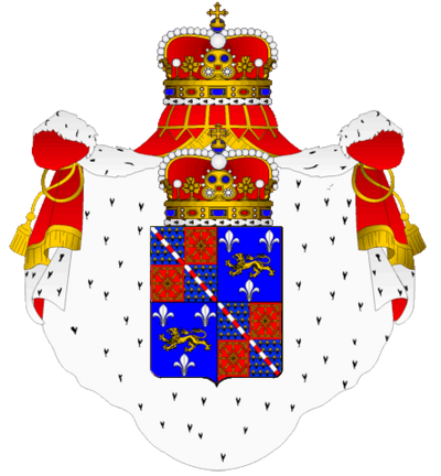 Image-armorial bearings Iphigénie of Valois-Montorgueil