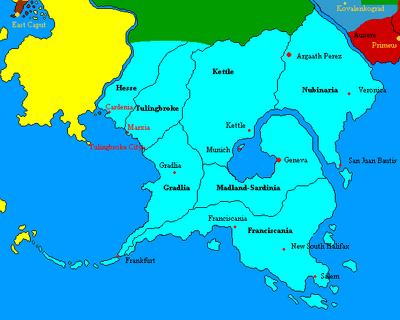 Madland map