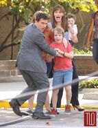 On the Set of Alexander and the Terrible, Horrible, No Good, Very Bad Day+3