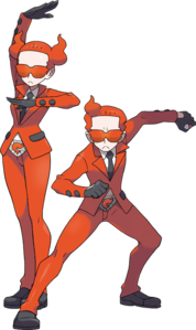 Team Flare Grunts artwork