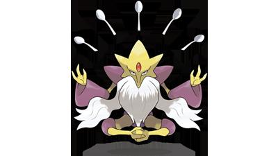 Mega Alakazam artwork