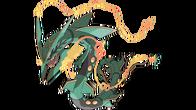 Mega Rayquaza artwork