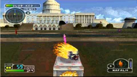 Twisted metal 3-La and Washington D