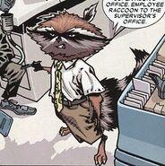 Rocket Raccoon Office