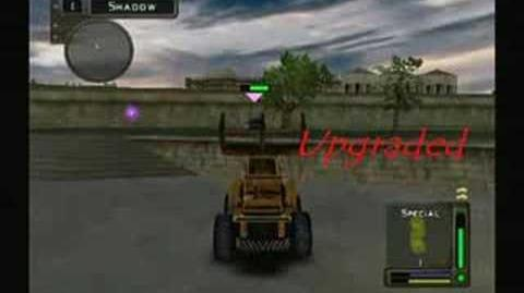 Twisted Metal Head On Weapons and Attacks