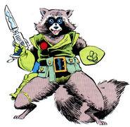 Rocket Raccoon 001
