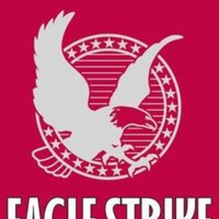 Original <i>Eagle Strike</i> cover. (year?)