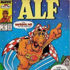 <b>ALF #4</b><br /><i>El Peludo Fantástico Al Rescate</i><br />01/Junio/1988