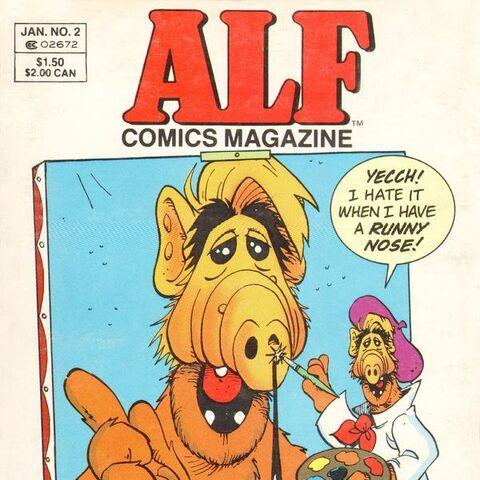 <b>ALF Revista #2</b><br />Enero/1989
