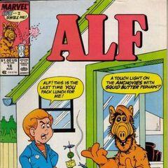 <b>ALF #18</b><br /><i>¡ALF, Esta Es La Última Vez Que Empaquetas Mi Almuerzo!</i><br />01/Agosto/1989