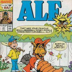 <b>ALF #21</b><br /><i>¿Esa Fue Tu Famosa Bola Curva Sacacorchos ALF?</i><br />01/Noviembre/1989