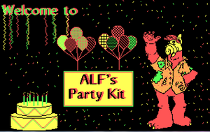 Party Kit-Welcome Screen