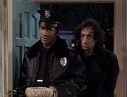 Polizist und Andrew Seminick
