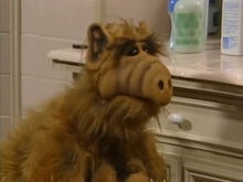 ALF in the Tanner Bathroom