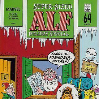 <b>ALF Especial Navidad #1</b><br />Invierno 1989
