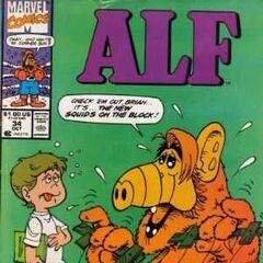 <b>ALF #34</b><br /><i>¡Brian, Hecha Un Vistazo A Los Nuevos Calamares!</i><br />01/Diciembre/1990