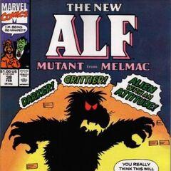 <b>ALF #38</b><br /><i>¡El Nuevo Mutante ALF De Melmac!</i><br />01/Abril/1991