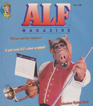 ALF Magazine - Fall 1990-cover