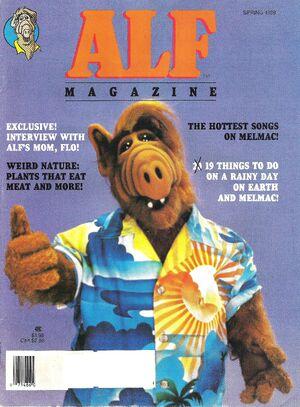 ALF Magazine - Spring 1989-cover my copy