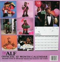 1988 Calendar-back