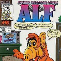<b>ALF #43</b><br /><i>¡Portada Holograma Asombrosa!</i><br />01/Septiembre/1991