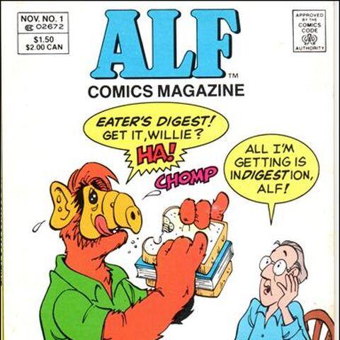 <b>ALF Revista #1</b><br />Noviembre/1988