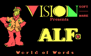 World of Words-Title Screen