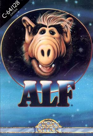 ALF - C64 front cover