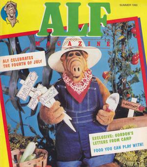 ALF Magazine - Summer 1990-cover