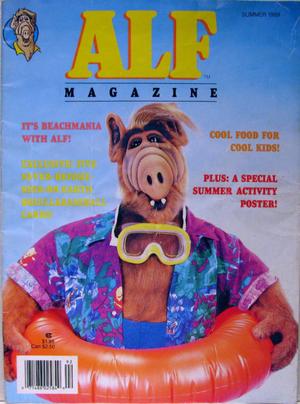 ALF Magazine - Summer 1989-cover
