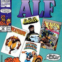 <b>ALF #45</b><br /><i>¡Relax, Son Sólo Pósters!</i><br />01/Noviembre/1991