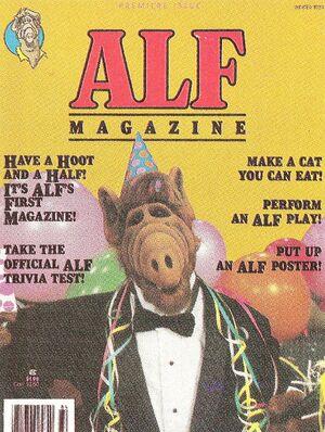 ALF Magazine - Winter 1989 - ad closeup