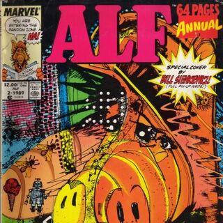 <b>ALF Anual #2</b><br />1989