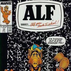 <b>ALF #10</b><br /><i>¡Yo ALF, Prometo Comer Pierna De Pollo!</i><br />01/Diciembre/1988
