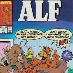 <b>ALF #12</b><br /><i>¡ALF, Yo Quería Mi Acondicionador Del Pelo!, ¡No El Tuyo!</i><br />01/Febrero/1989