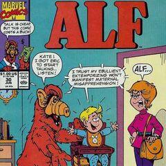 <b>ALF #30</b><br /><i>Palabras Grandes = Un Gran Problema De Altavoz En Casa</i><br />01/Agosto/1990