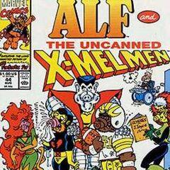 <b>ALF #44</b><br /><i>¡Bienvenidos Los X-Melmen...!</i><br />01/Octubre/1991