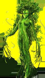 Triasha deity