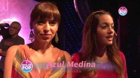 """Aliados """"Madre e hija"""" Azul en idolos pop"""