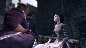 Nan talking to Alice