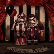 Tweedle clowns