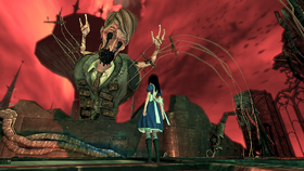 Alice Madness Returns - Walka Alice z Dollmakerem
