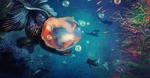 Goldenfish Queen and Mermaid Alice