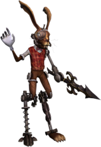 March Hare AMR render