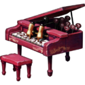 Dollhouse piano