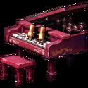 Dollhouse piano