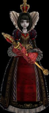 Reina de Corazones AMR render